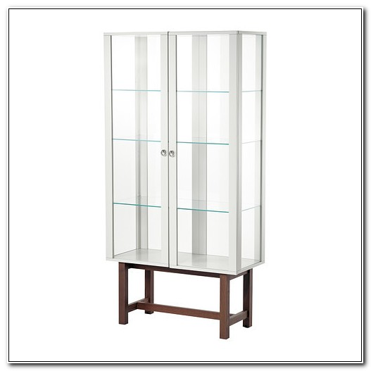 Ikea Glass Display Cabinet Ebay