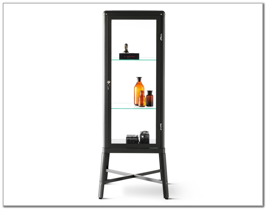 Ikea Glass Display Cabinet Lockable