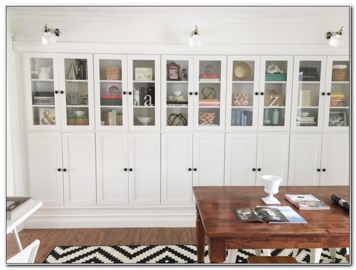 Ikea Hack Built In Cabinets