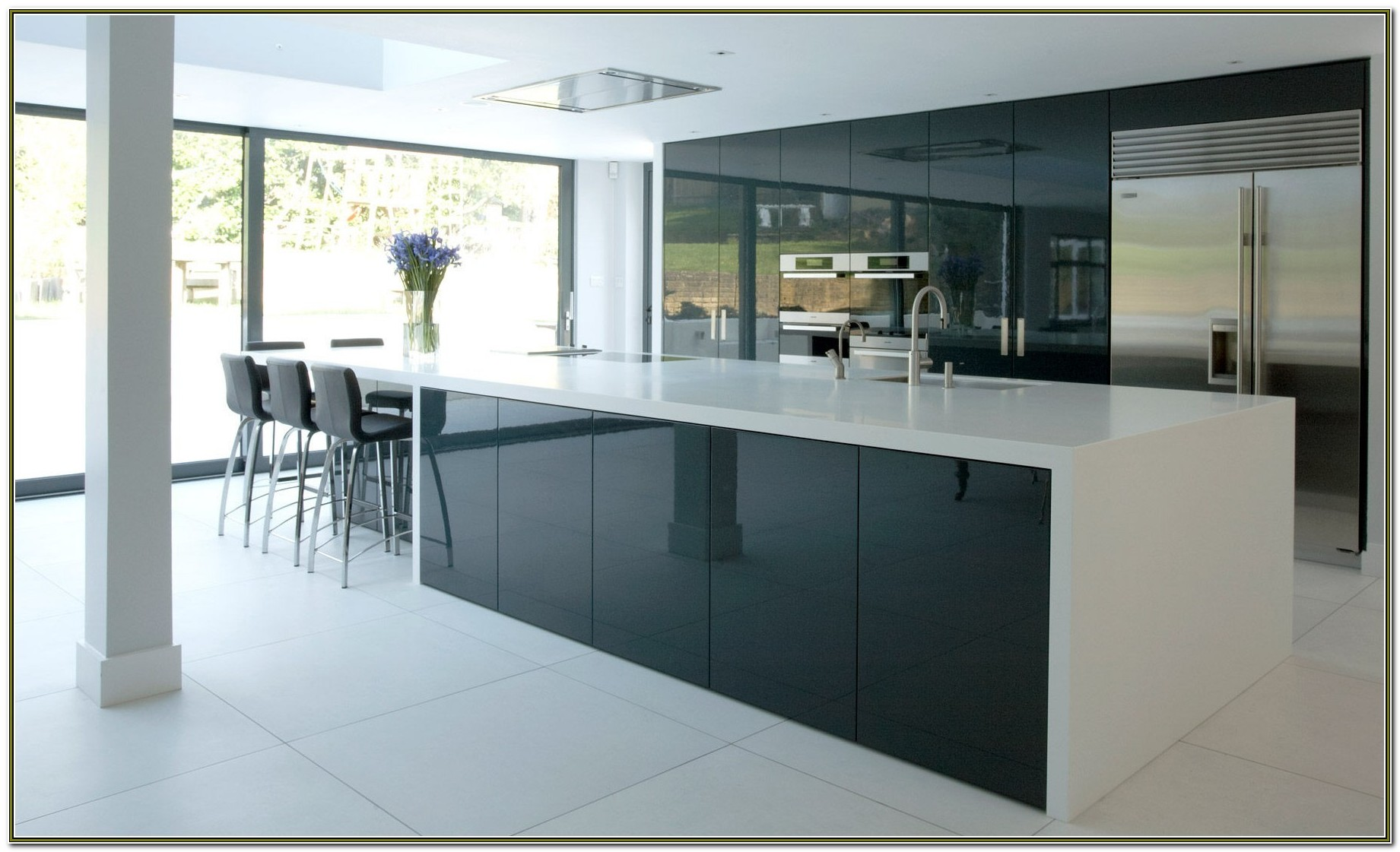 Ikea High Gloss Kitchen Cabinet Doors