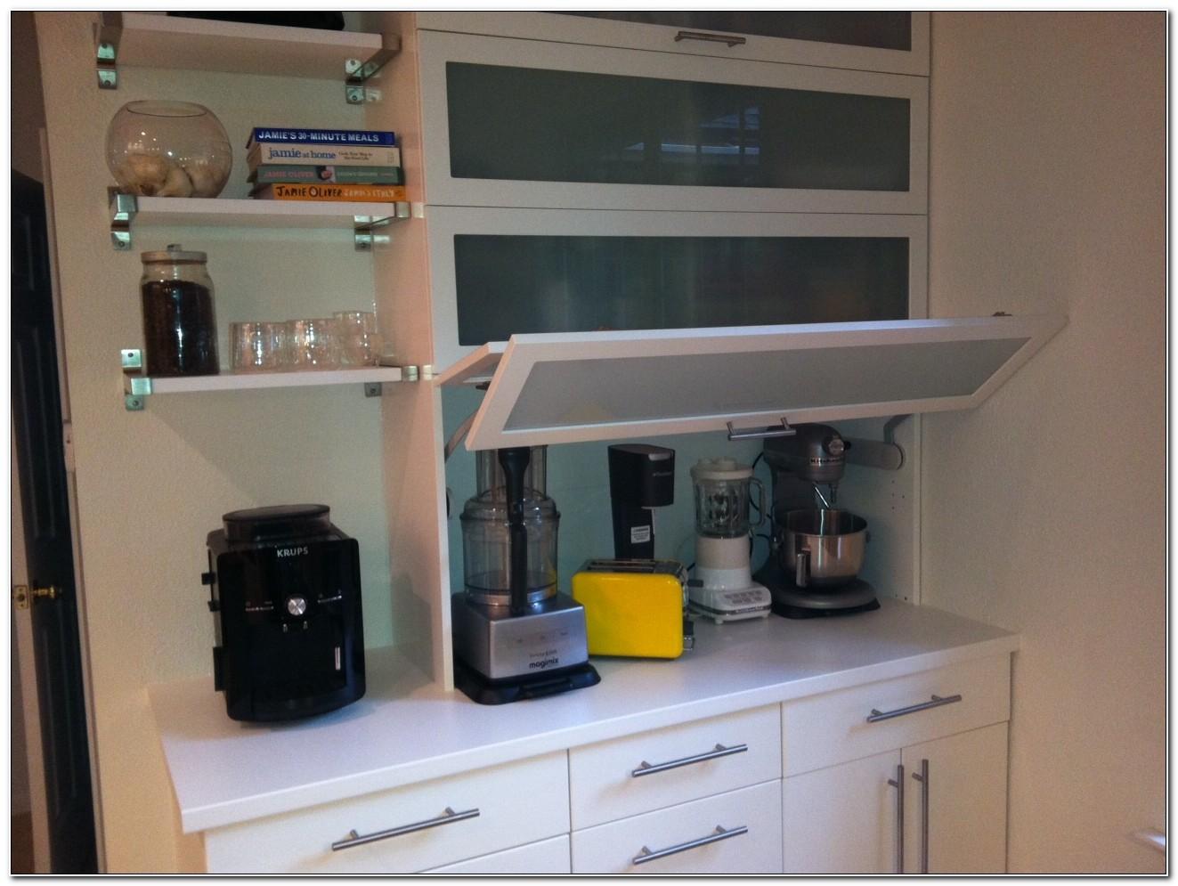 Ikea Kitchen Cabinets Appliance Garage