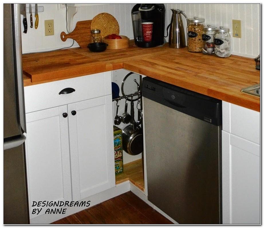 Ikea Kitchen Corner Cabinet Hack