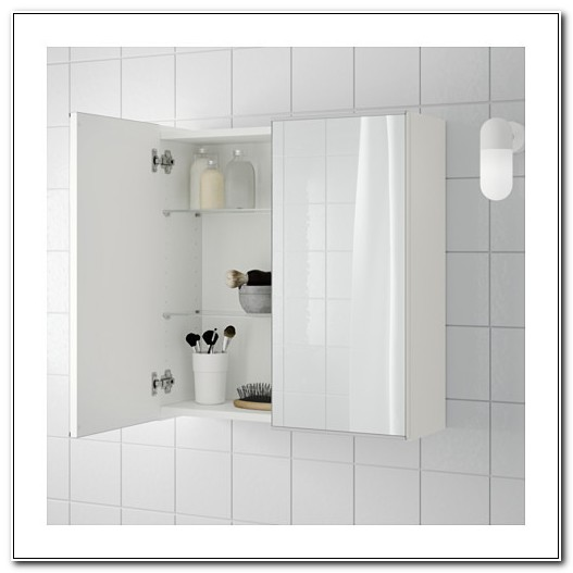 Ikea Lillangen Mirror Bathroom Cabinet