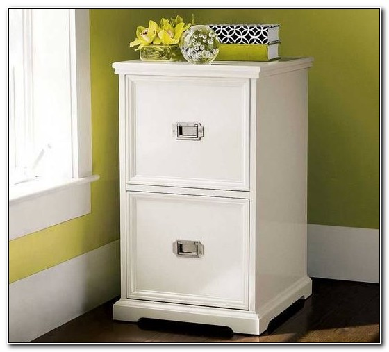 Ikea White Wood Filing Cabinet