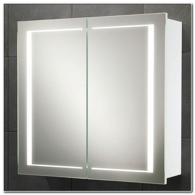Illuminated Bathroom Cabinets Mirrors