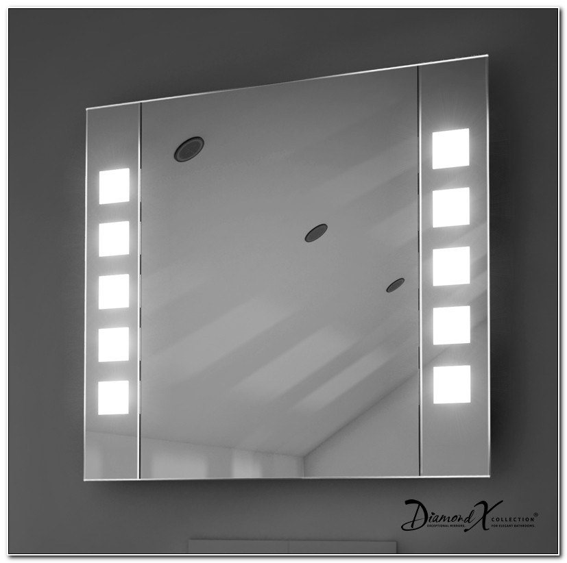 Illuminated Bathroom Mirror Cabinet Suppliers