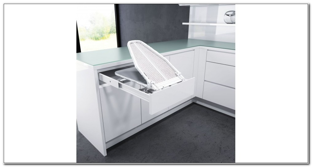 In Cabinet Ironing Board