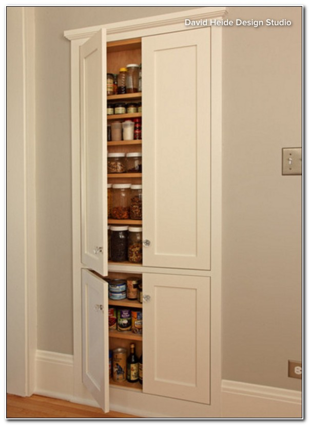 In Wall Pantry Cabinet