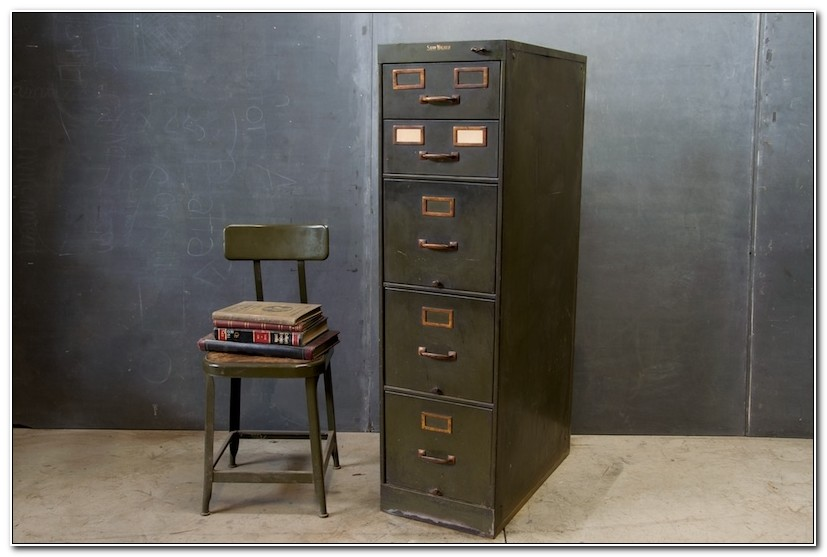 Industrial Filing Cabinets Vintage