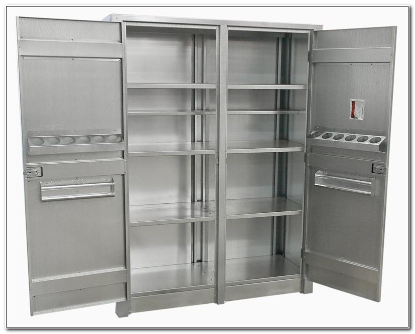 Industrial Stainless Steel Storage Cabinets