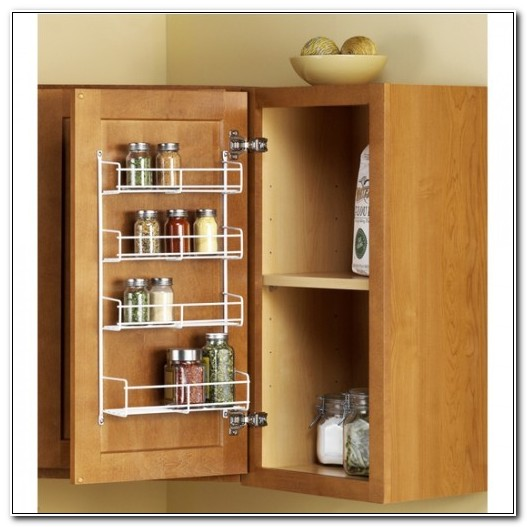 Inside Cabinet Door Spice Rack