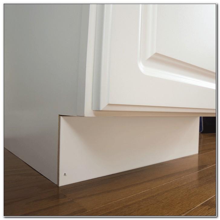 Install Kitchen Cabinet Kick Plate