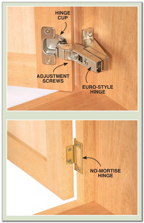 Installing Inset Hinges Cabinet Doors
