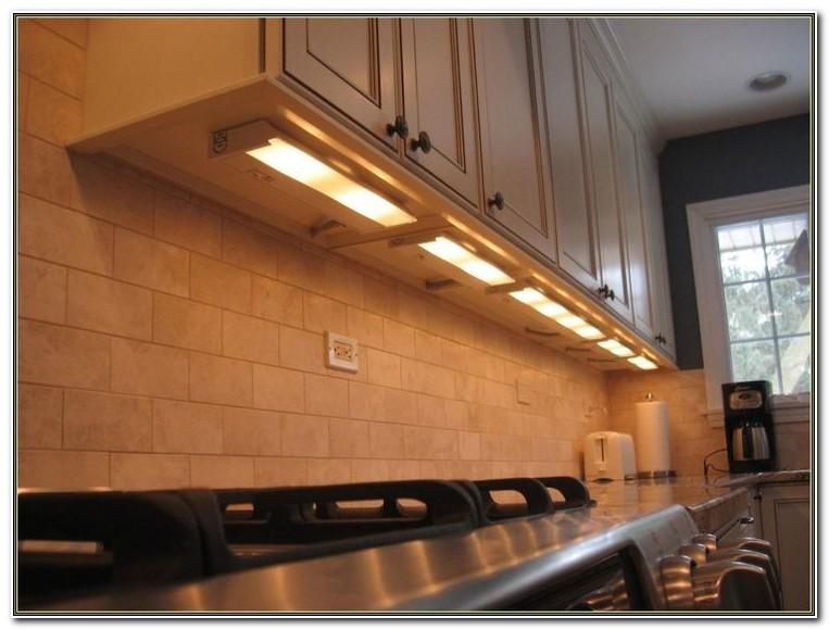 Installing Linkable Under Cabinet Lighting
