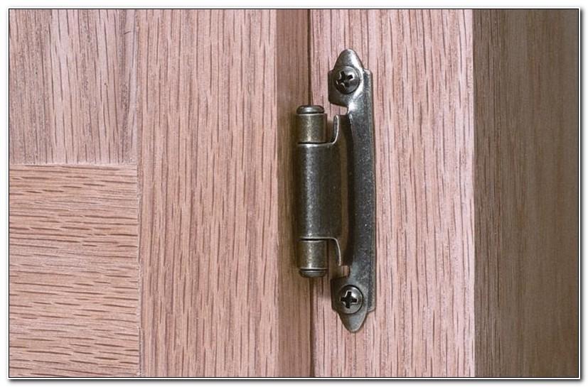 Installing Self Closing Cabinet Door Hinges