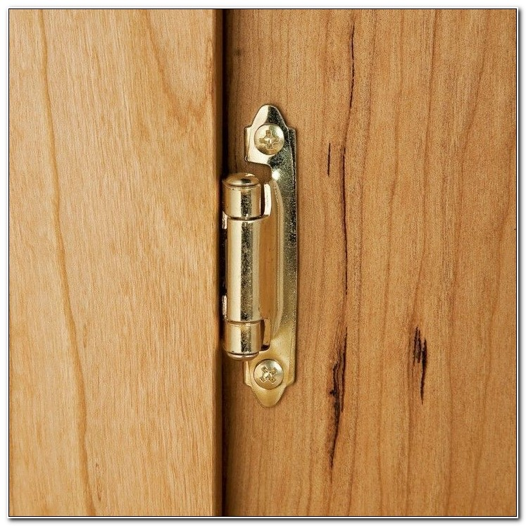 Installing Semi Concealed Cabinet Hinges