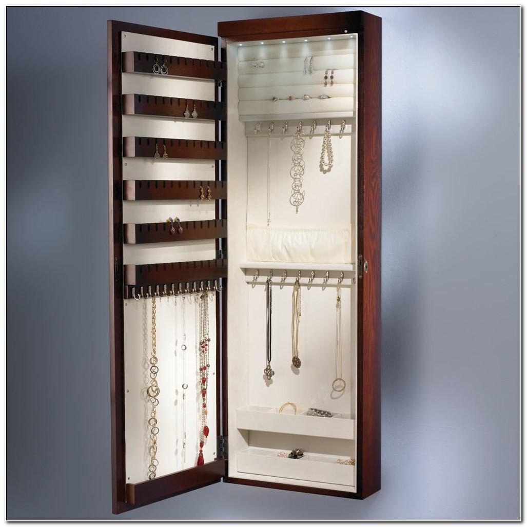 Jewelry Cabinets Wall Mounted