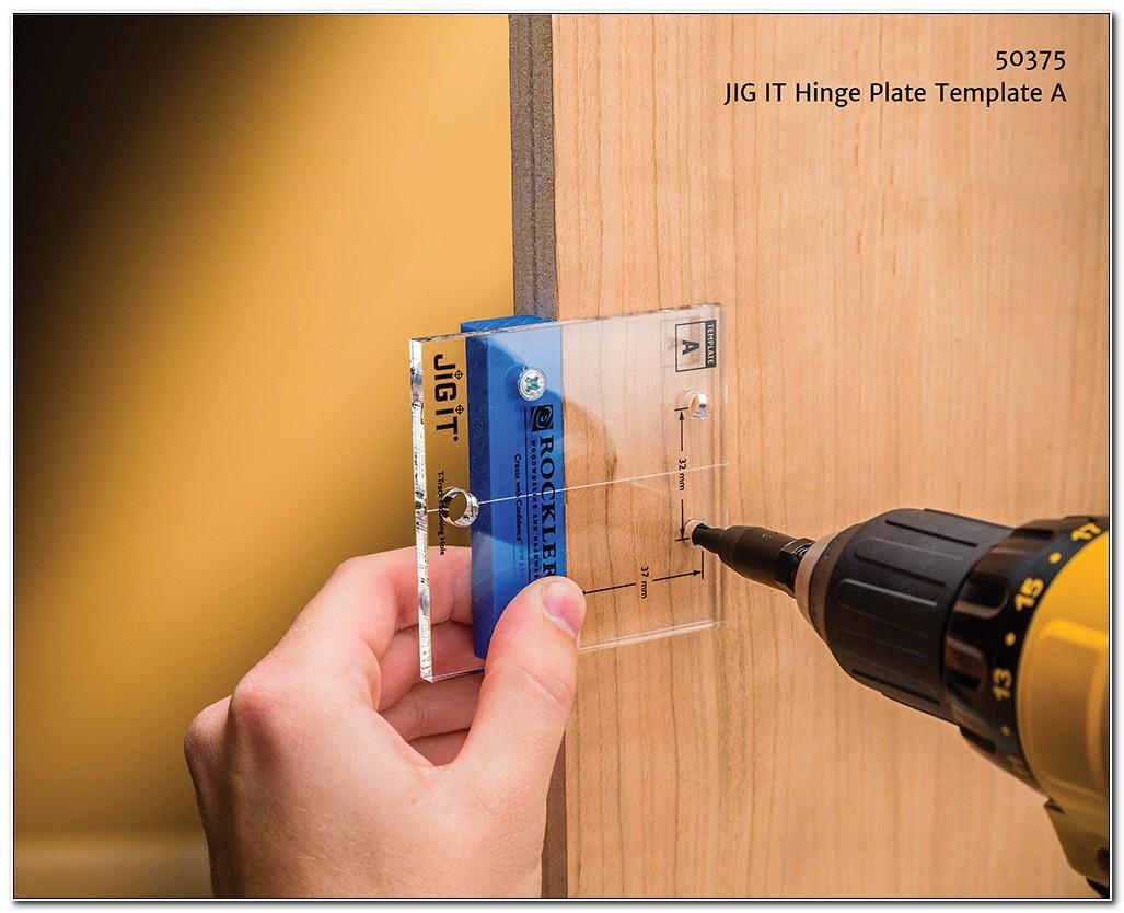 Jig For Installing Concealed Hinges Kitchen Cabinets