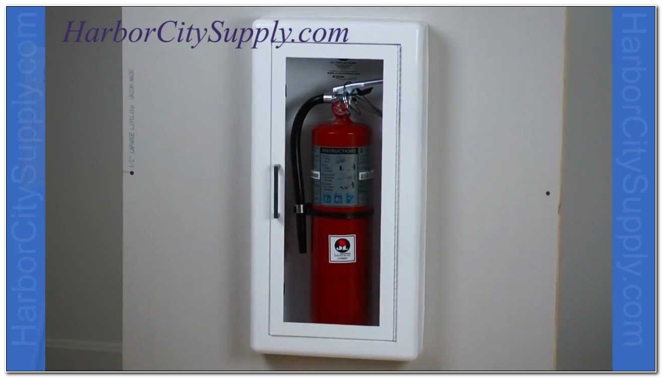 Jl Larsen Fire Extinguisher Cabinets