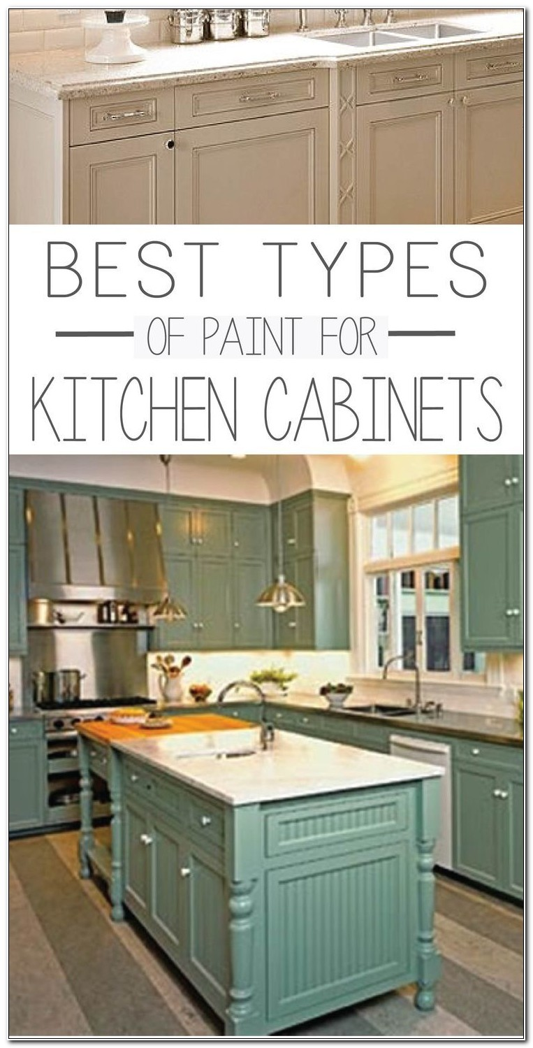 Kind Of Paint Kitchen Cabinets