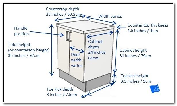 Kitchen Base Cabinet Depths