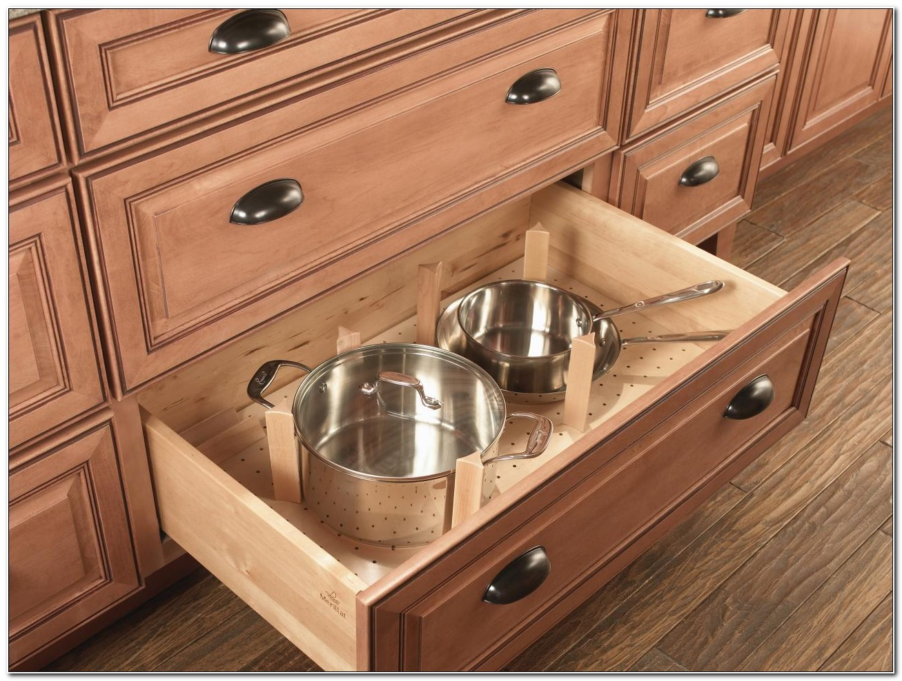 Kitchen Base Cabinet Drawer Inserts
