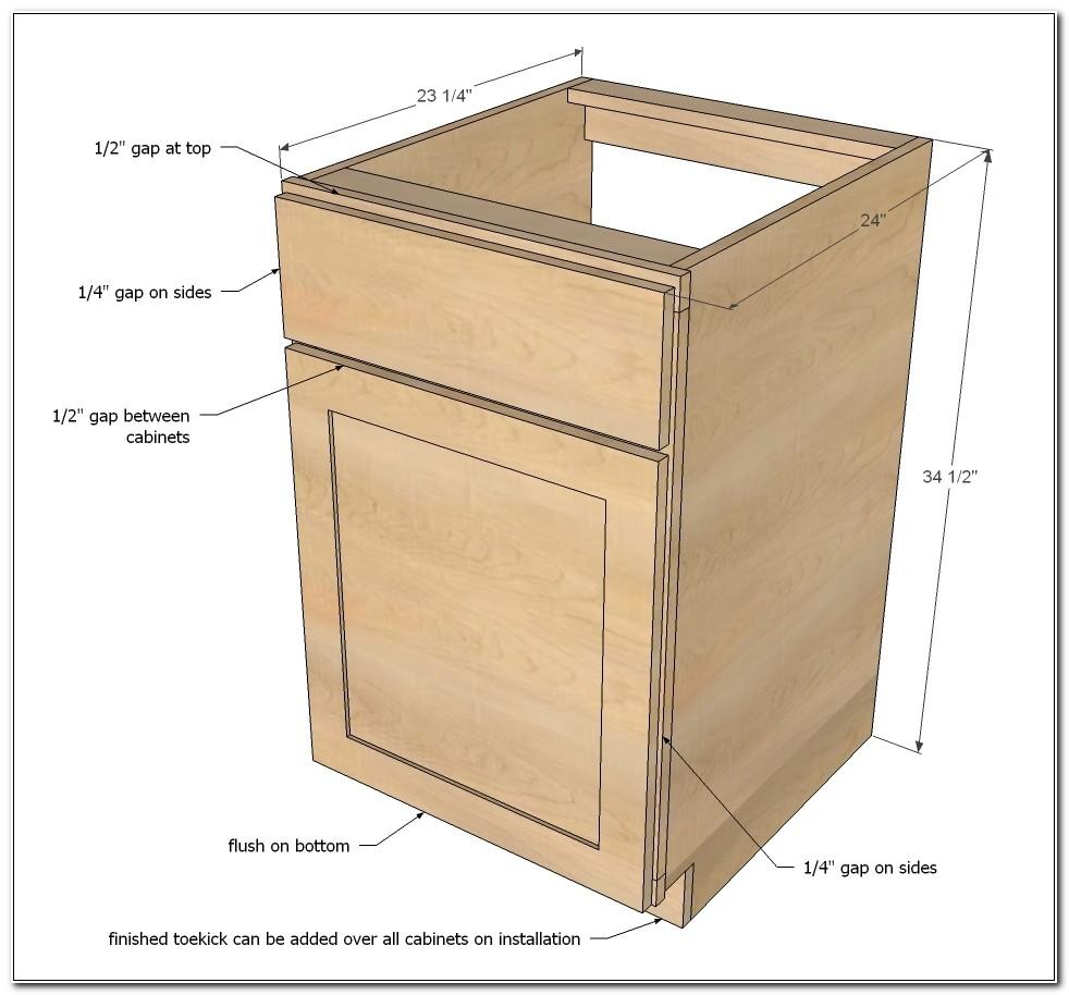 Kitchen Cabinet Base Unit Dimensions