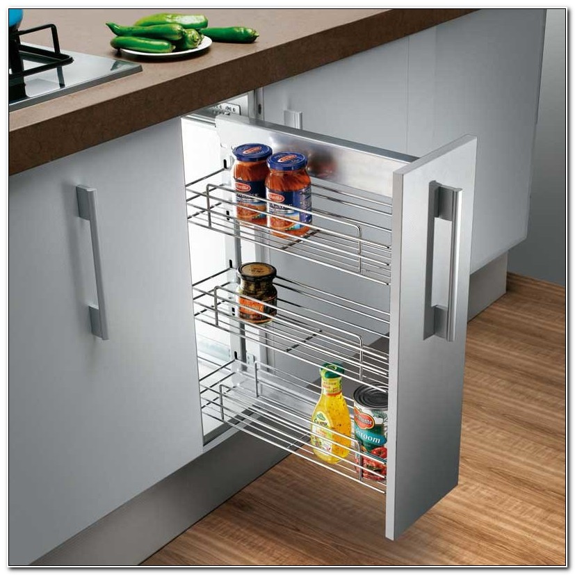Kitchen Cabinet Basket Pull Out