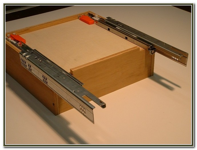 Kitchen Cabinet Drawer Slides Self Closing