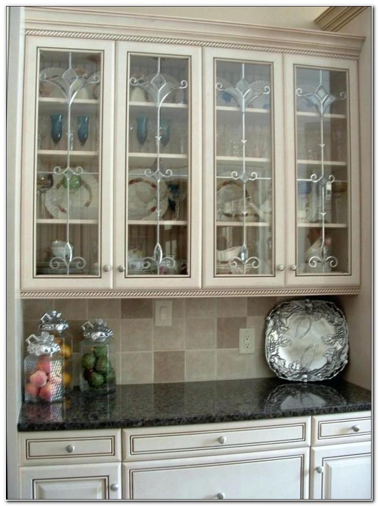 Kitchen Cabinet Glass Inserts Home Depot