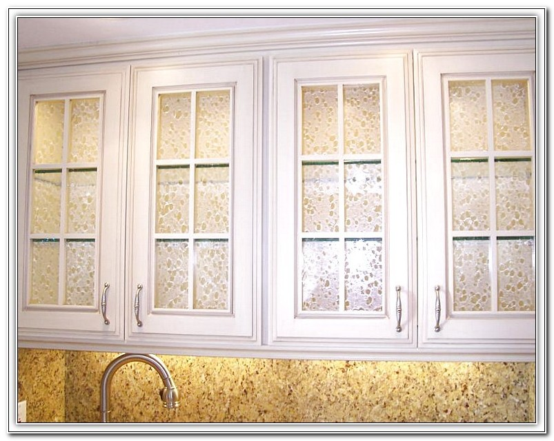 Kitchen Cabinet Glass Inserts Leaded