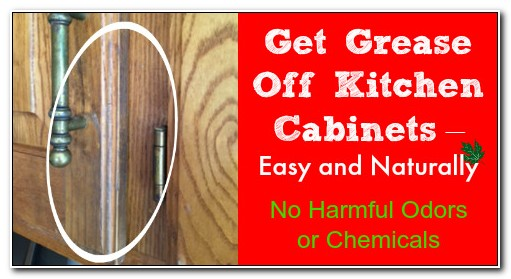 Kitchen Cabinet Grease Cleaning