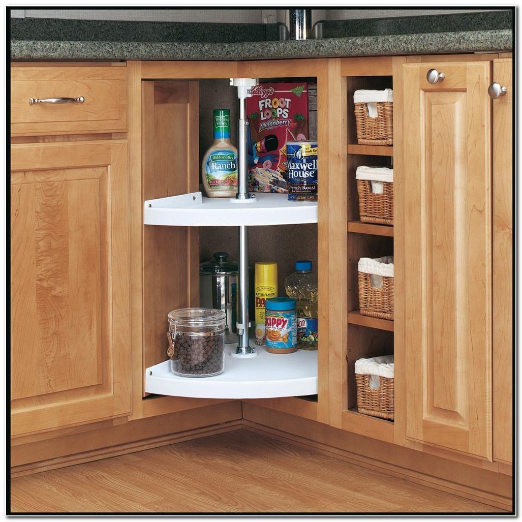 Kitchen Cabinet Lazy Susan Turntable