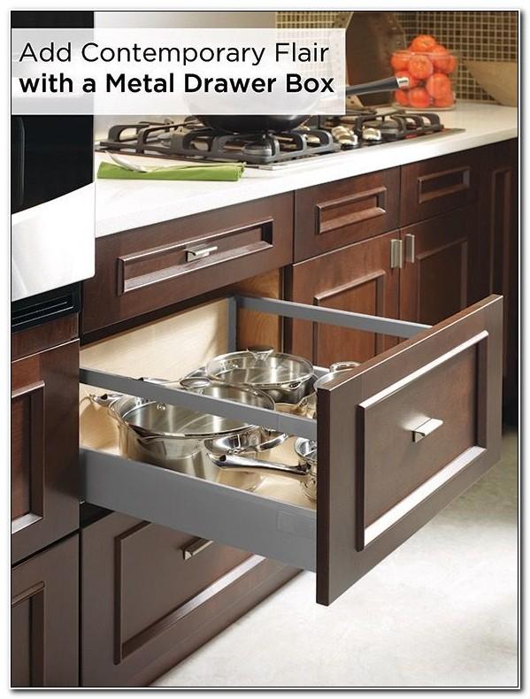 Kitchen Cabinet Metal Drawer Boxes