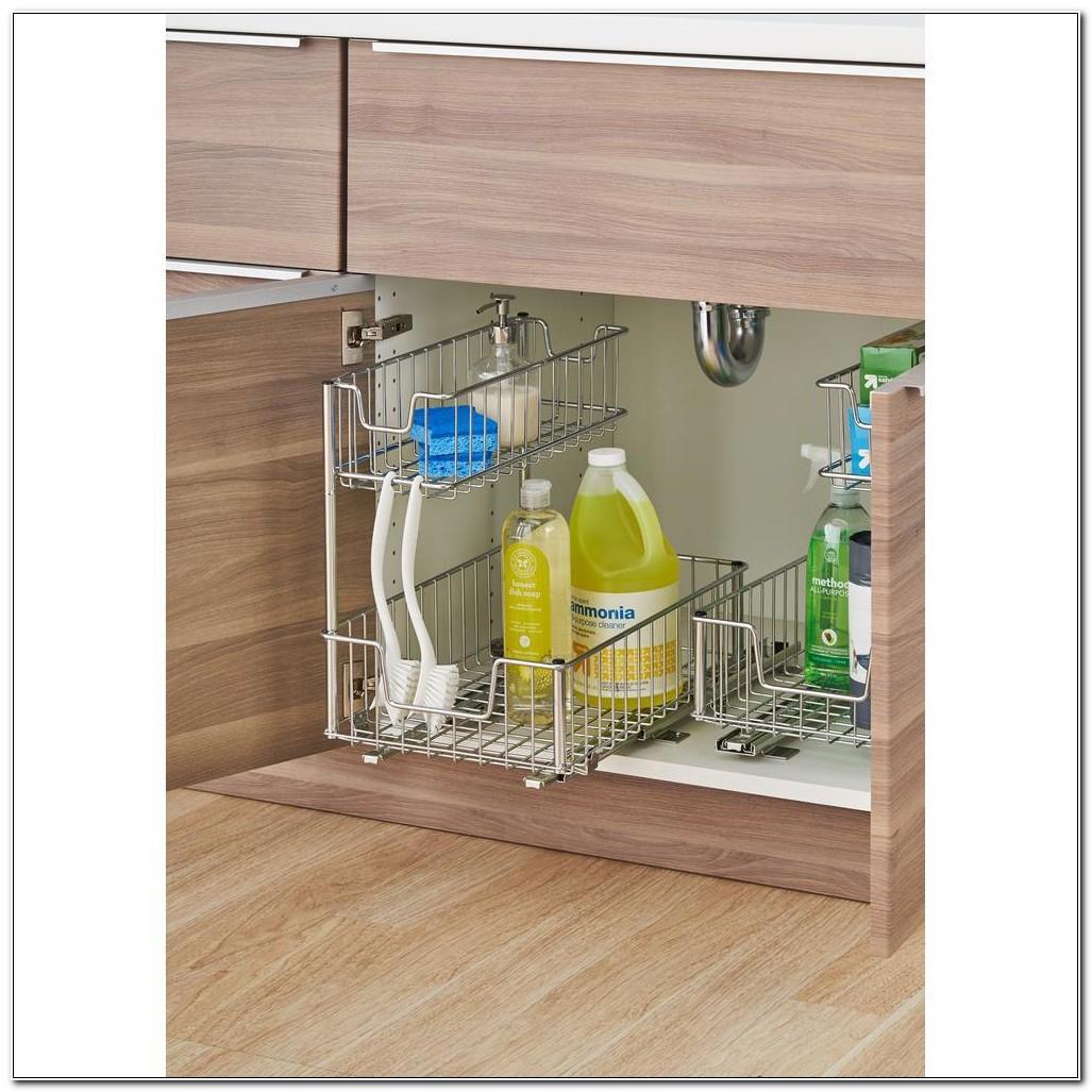 Kitchen Cabinet Organizers Home Depot