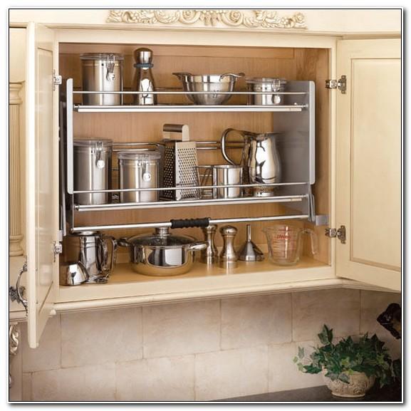 Kitchen Cabinet Pull Down Shelves
