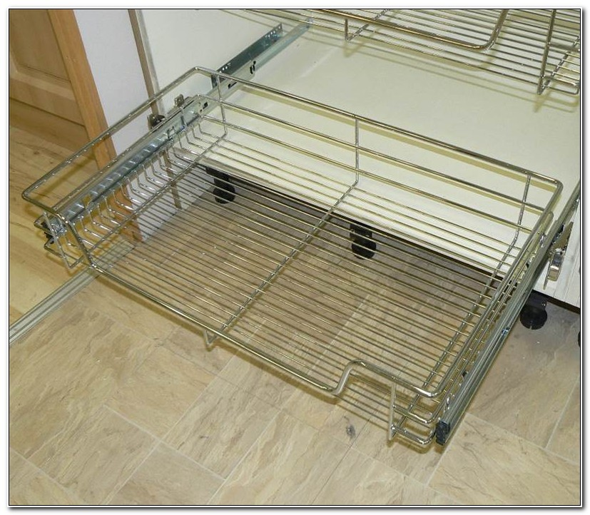 Kitchen Cabinet Pull Out Wire Baskets