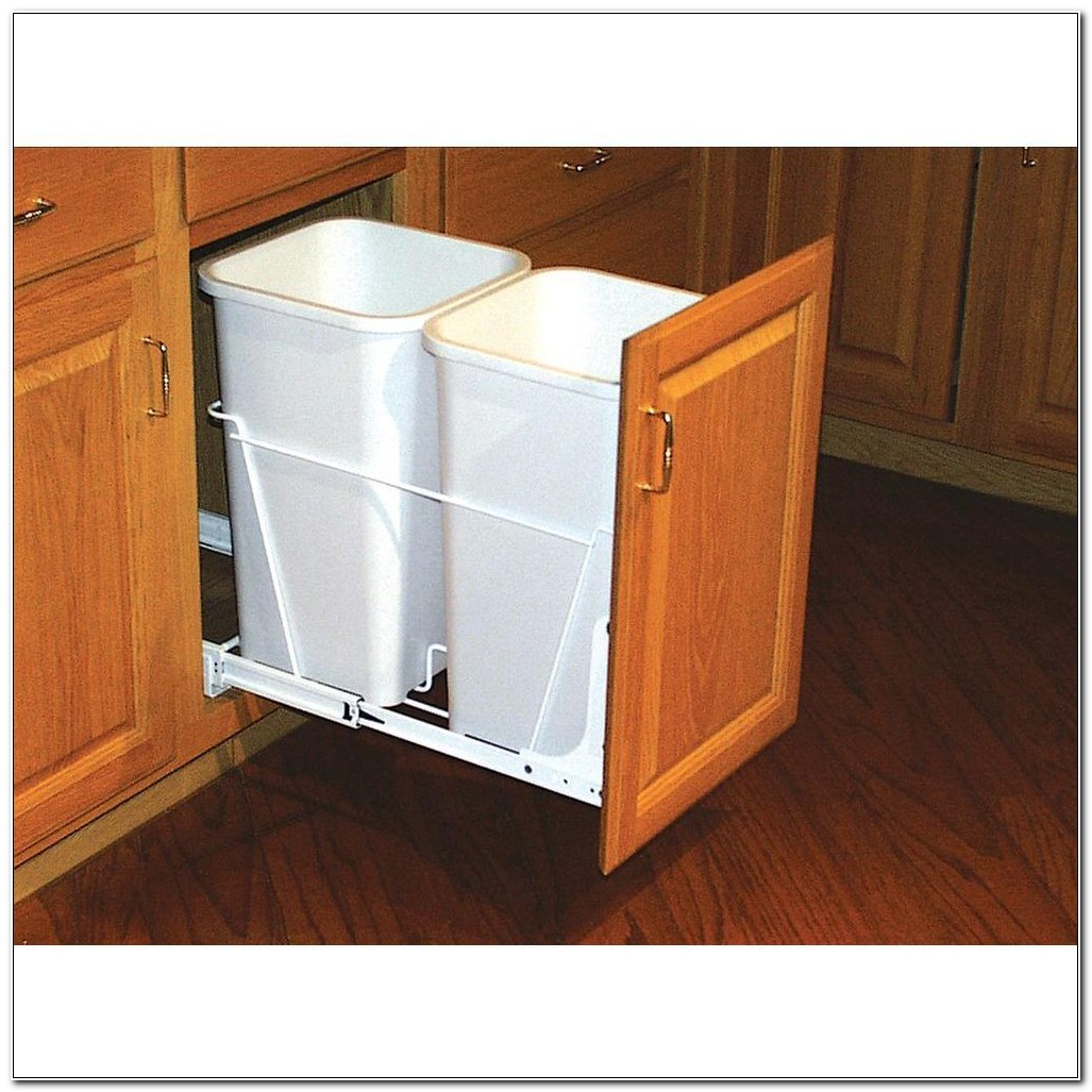 Kitchen Cabinet Waste Containers