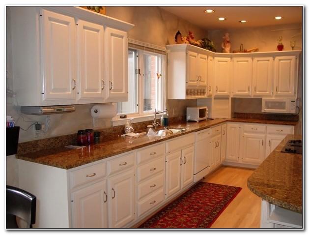 Kitchen Cabinets Pickled Oak Finish