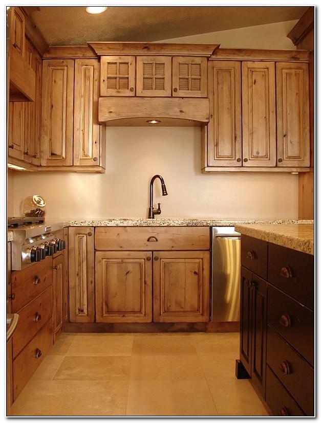 Kitchen Cabinets Rustic Alder