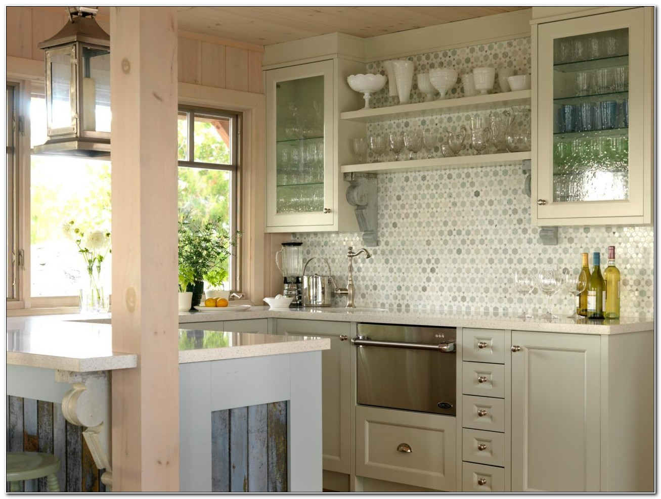 Kitchen Cabinets With Glass Fronts