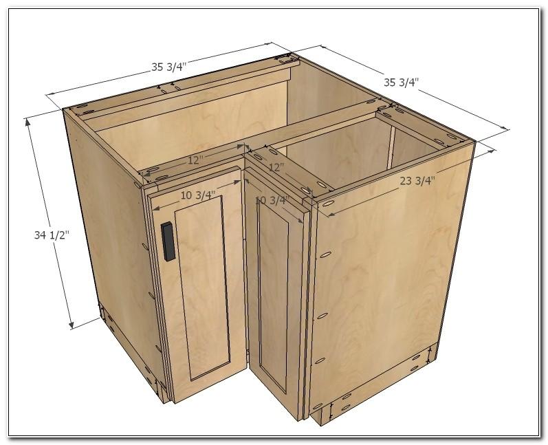 Kitchen Corner Base Cabinet Dimensions