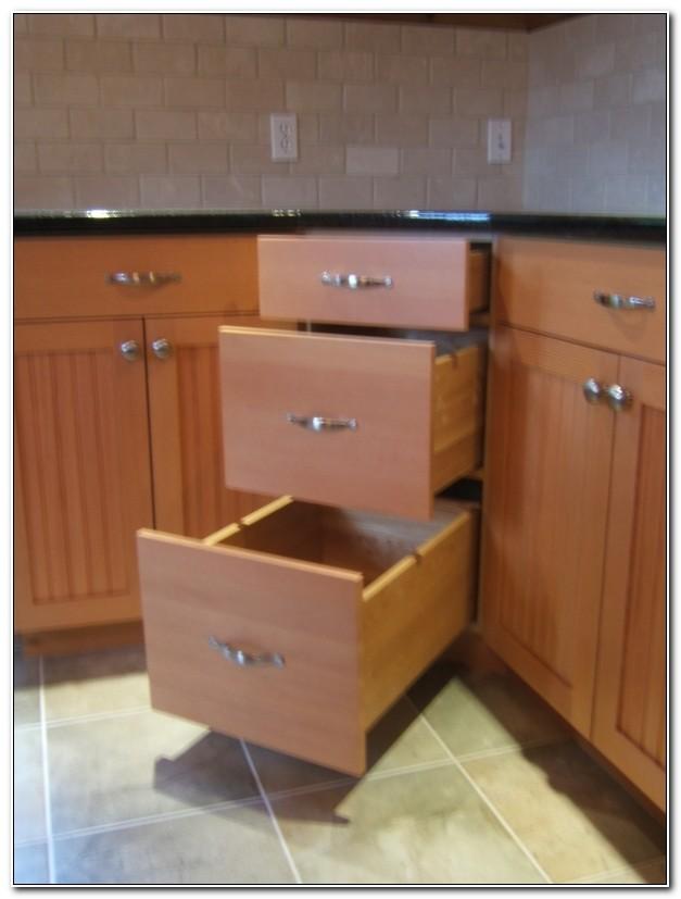 Kitchen Corner Base Cabinet Ideas