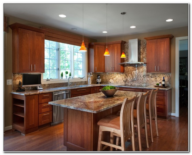 Kitchen Countertops And Cabinet Combinations
