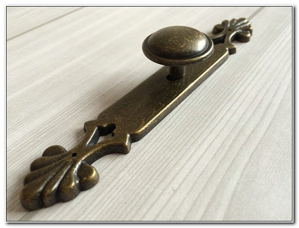 Kitchen Cupboard Handles With Backplates