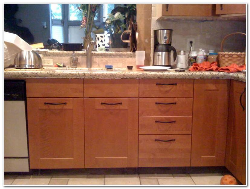 Kitchen Drawer Knob Placement