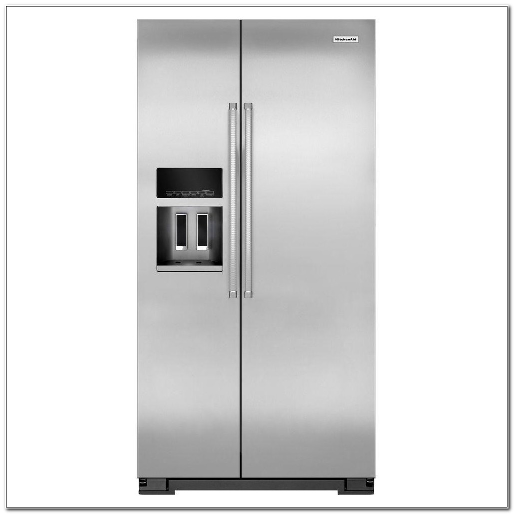 Kitchenaid Counter Depth Refrigerator Side By Side