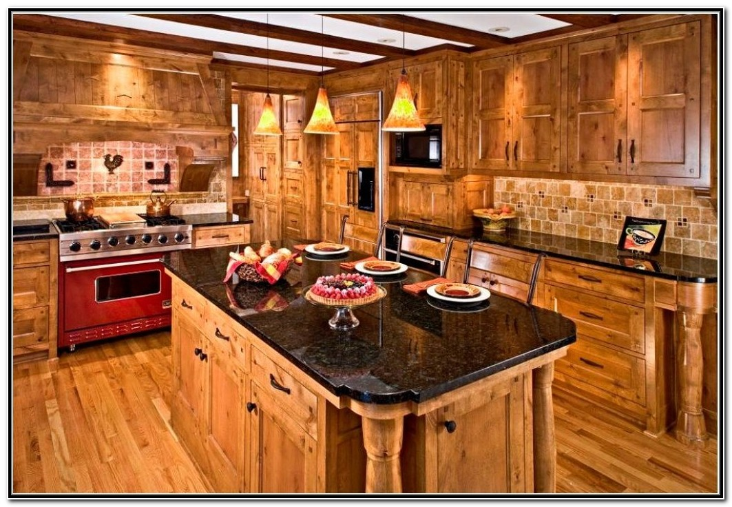 Knotty Alder Kitchen Cabinets Home Depot