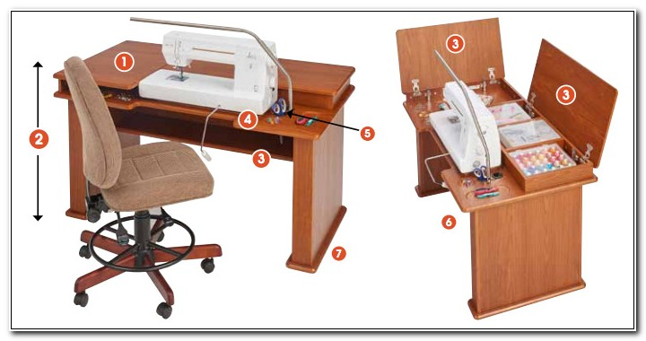 Koala Sewing Machine Cabinets Tables