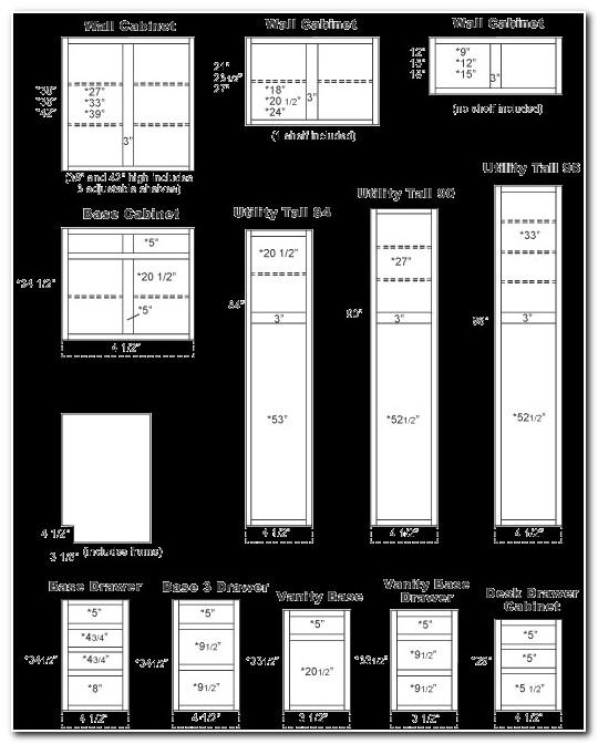 Kraftmaid Kitchen Cabinet Measurements